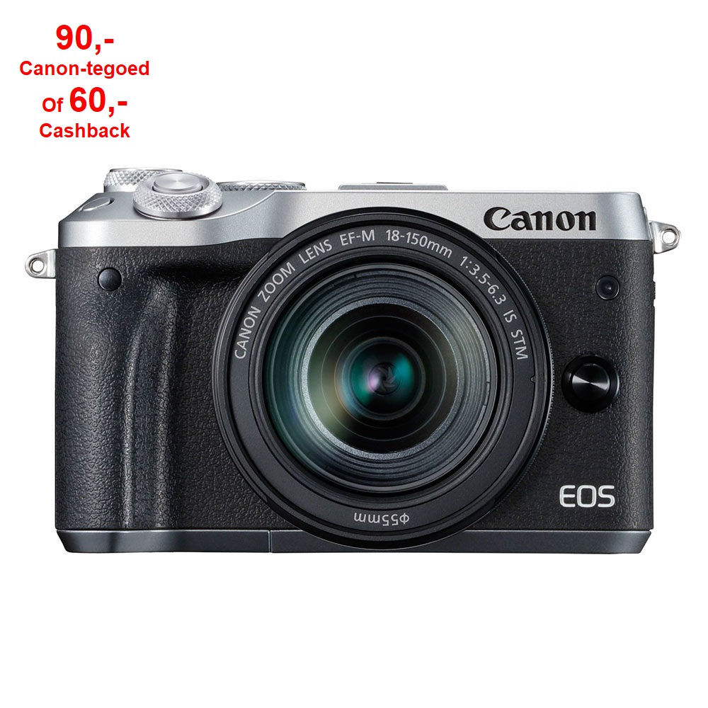 Canon EOS  M6 Silver M18-150 IS STM