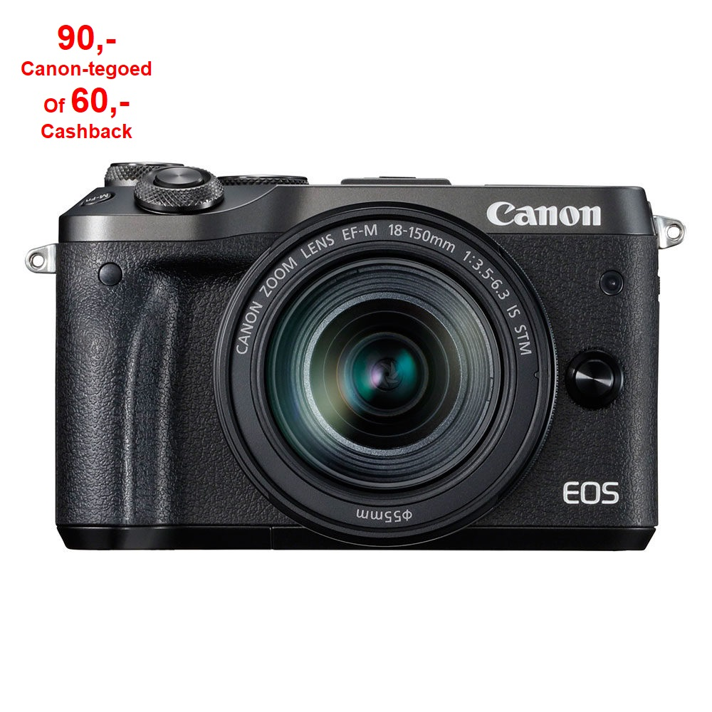 Canon EOS  M6 Black M18-150 IS STM