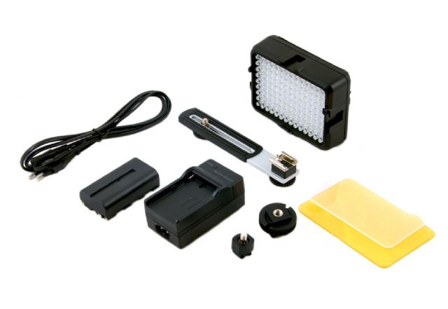 Falcon Eyes LED Lamp Set Dimbaar DV-126DB-K incl. Accu