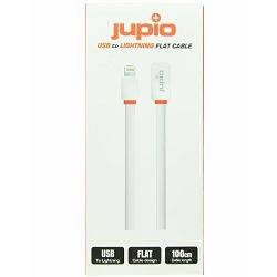 Jupio Flat Cable USB to Lightning wit 1M