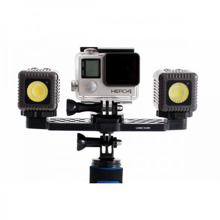 Lume Cube Kit GoPro Mounting Bar + 2  Lume Cubes