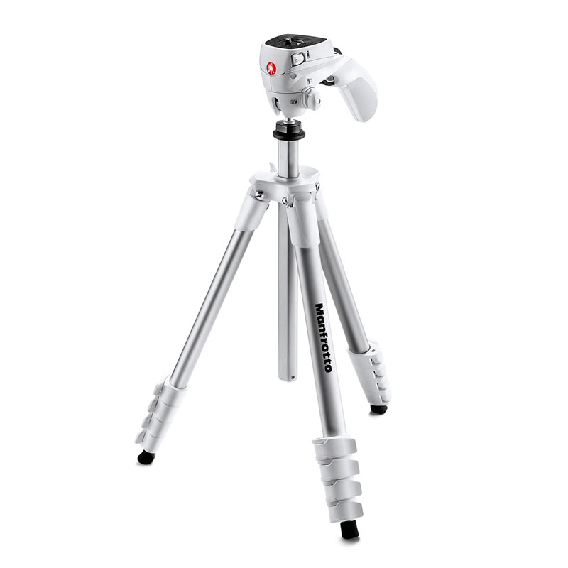 Manfrotto Compact Action statief Wit