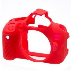 EasyCover Bodycover for Canon 650D / 700D Red