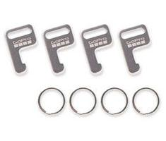 GoPro Atachement Keys + Rings