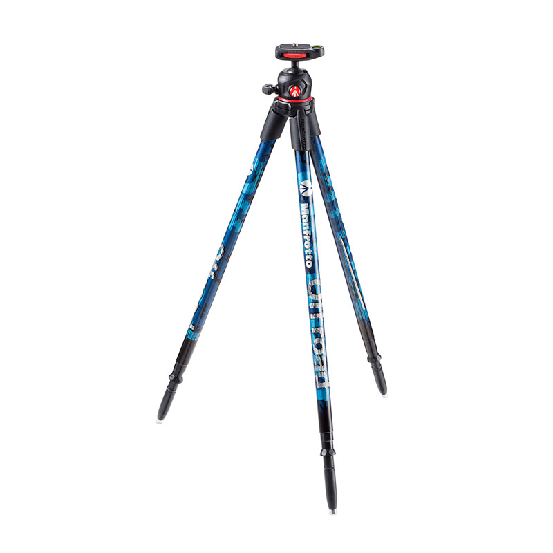 Manfrotto Off road statief Blauw