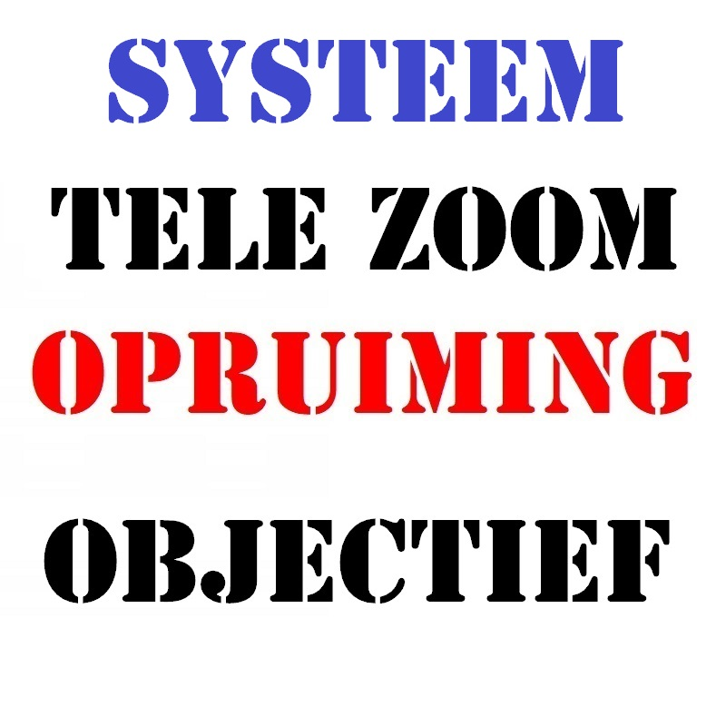 Systeem Tele Zoom